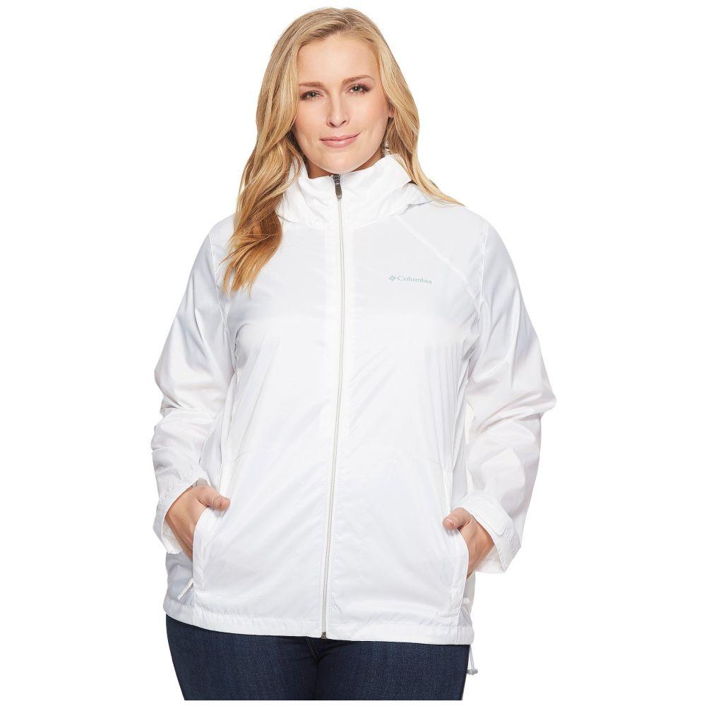 コロンビア Columbia レディース アウター ジャケット【Plus Size Switchback III Jacket】White
