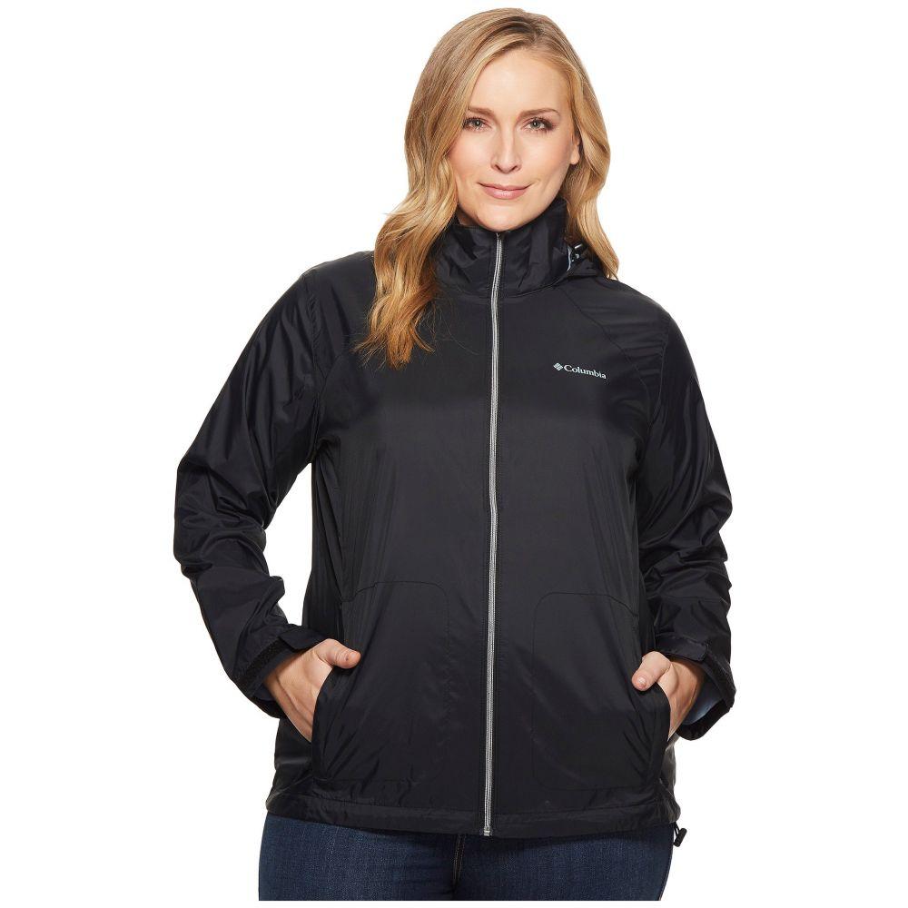 コロンビア Columbia レディース アウター ジャケット【Plus Size Switchback III Jacket】Black