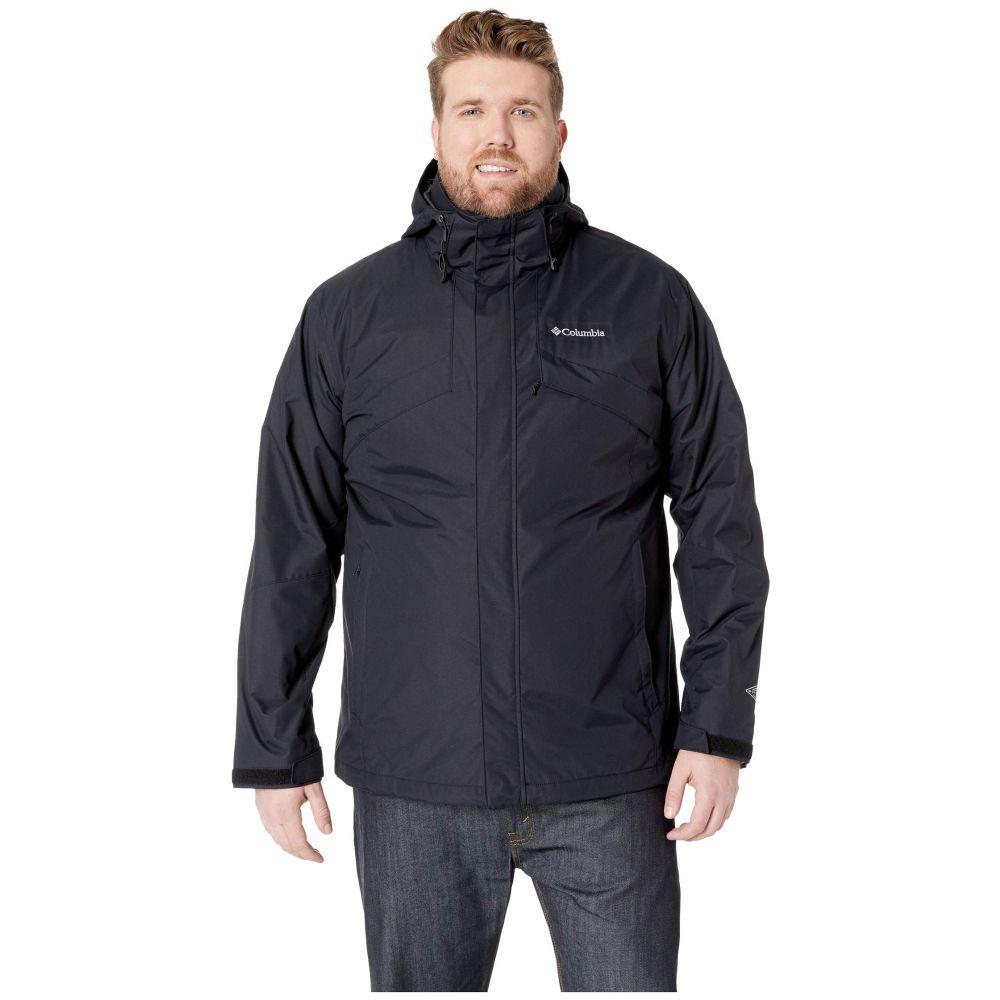 コロンビア Columbia メンズ アウター ジャケット【Big & Tall Bugaboo(TM) II Fleece Interchange Jacket】Black/Charcoal Heather