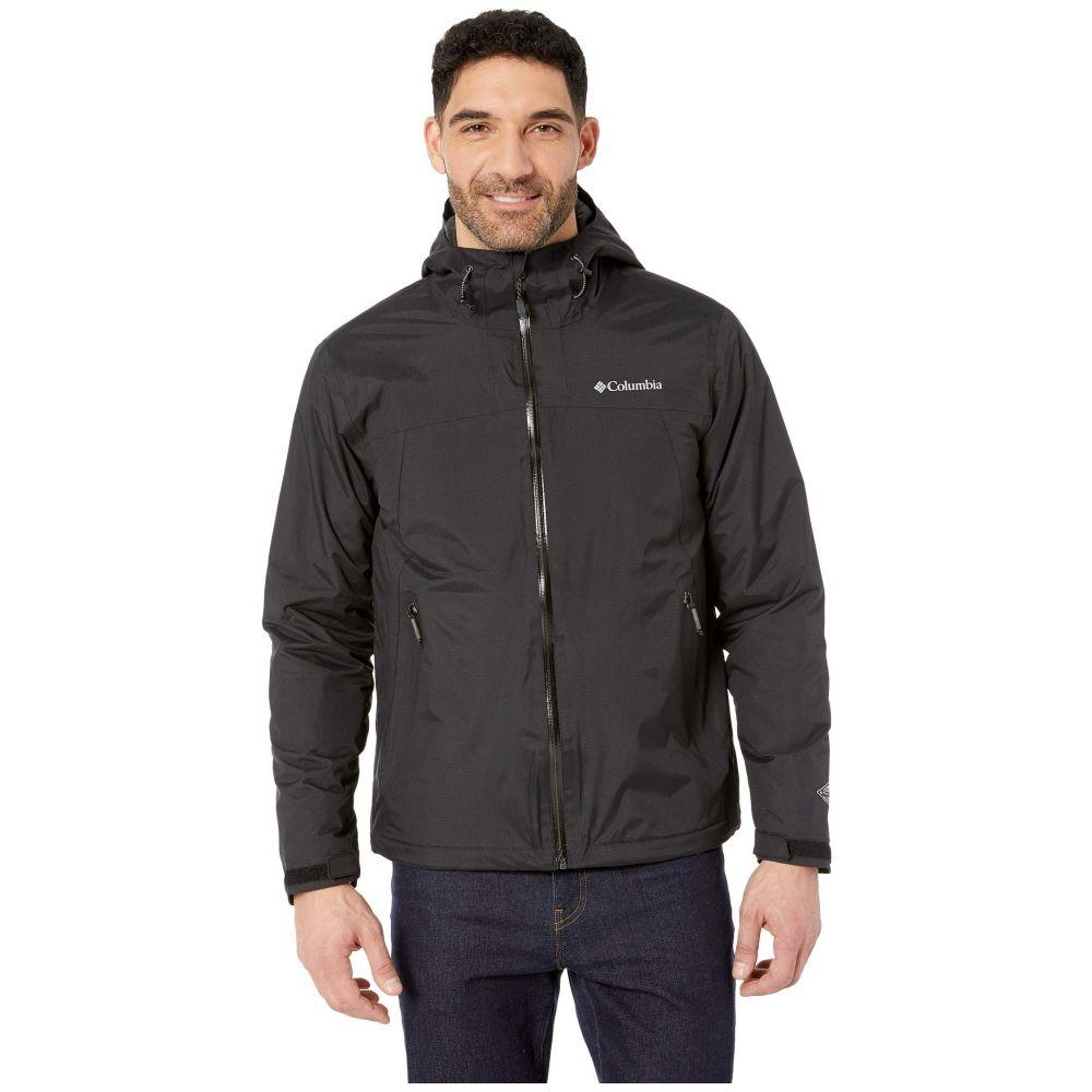コロンビア Columbia メンズ アウター レインコート【Top Pine(TM) Insulated Rain Jacket】Black/Graphite