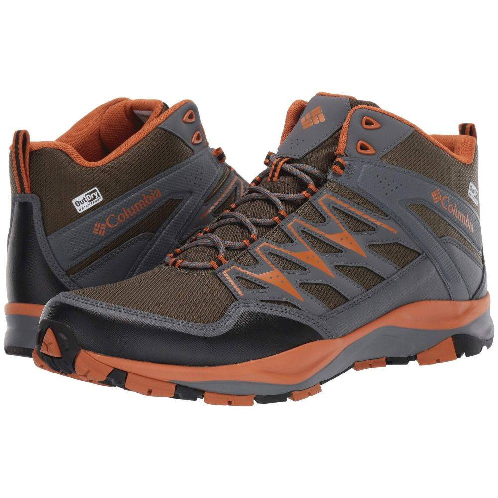 コロンビア Columbia メンズ ハイキング・登山 シューズ・靴【Wayfinder(TM) Mid Outdry(TM)】Nori/Bright Copper