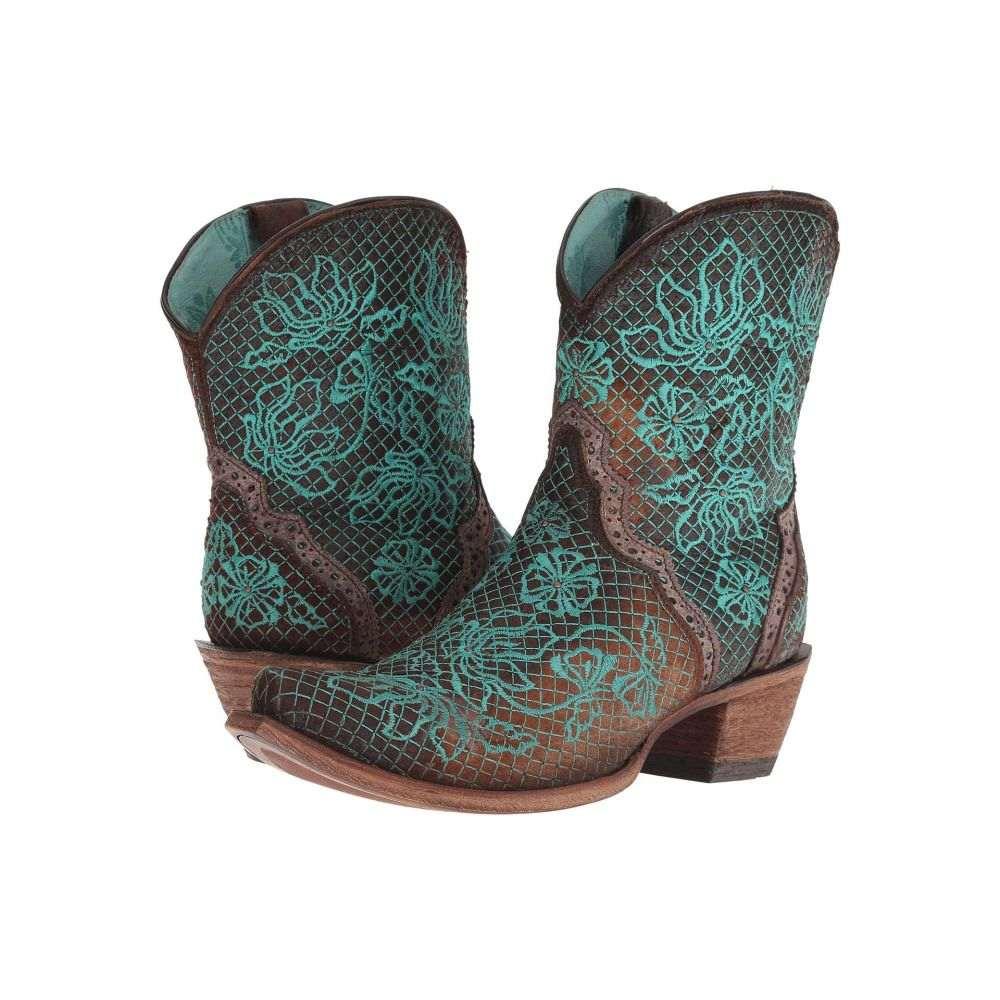 【高価値】 コラル Corral Corral Boots Boots レディース シューズ・靴 コラル ブーツ【C3427】Chocolate/Turquoise, ナンデモヤ:7ed0cbfd --- dmarketingland.in