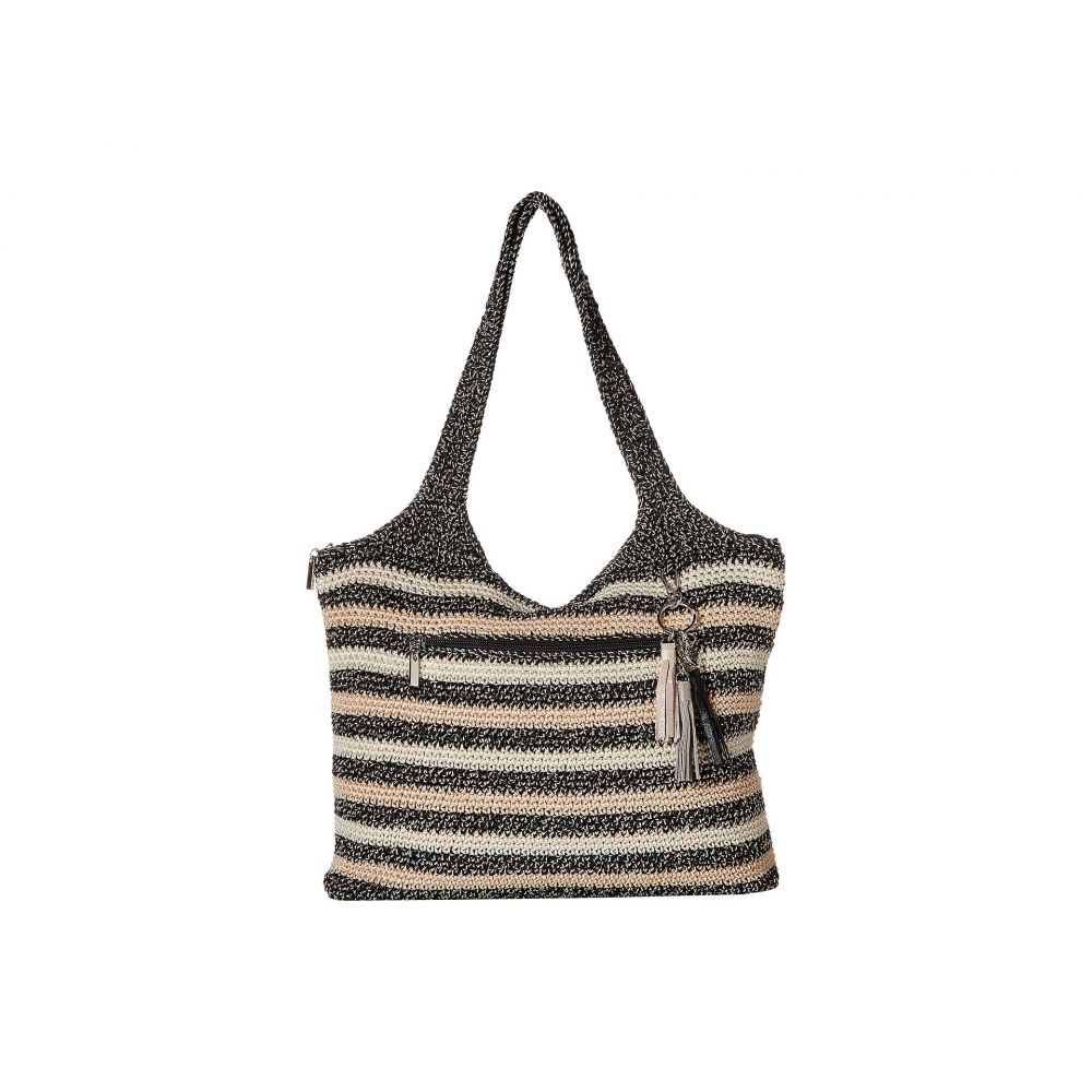 ザ サク The Sak レディース バッグ トートバッグ【Casual Classics Large Tote】Salt & Pepper Stripe