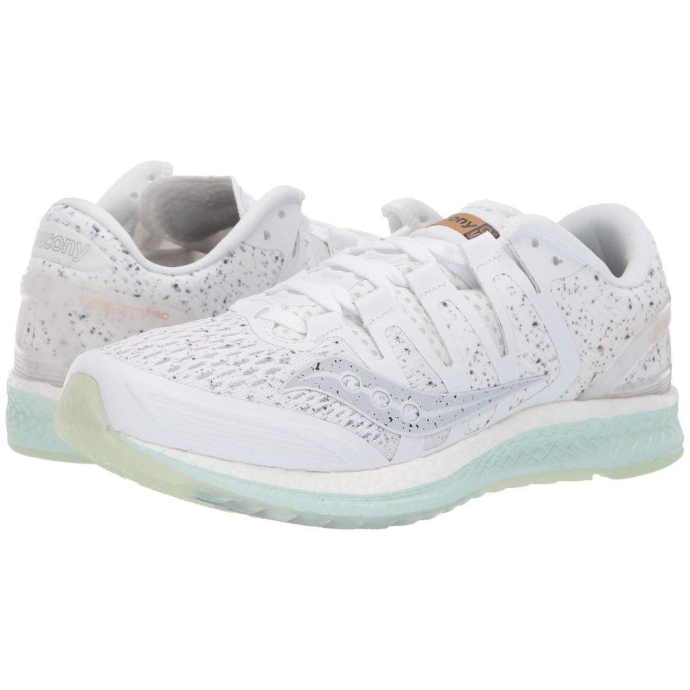 サッカニー Saucony レディース ランニング・ウォーキング シューズ・靴【Liberty ISO】White