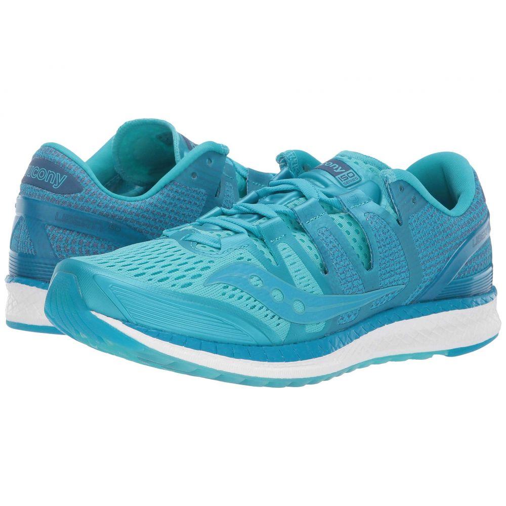 サッカニー Saucony レディース ランニング・ウォーキング シューズ・靴【Liberty ISO】Blue