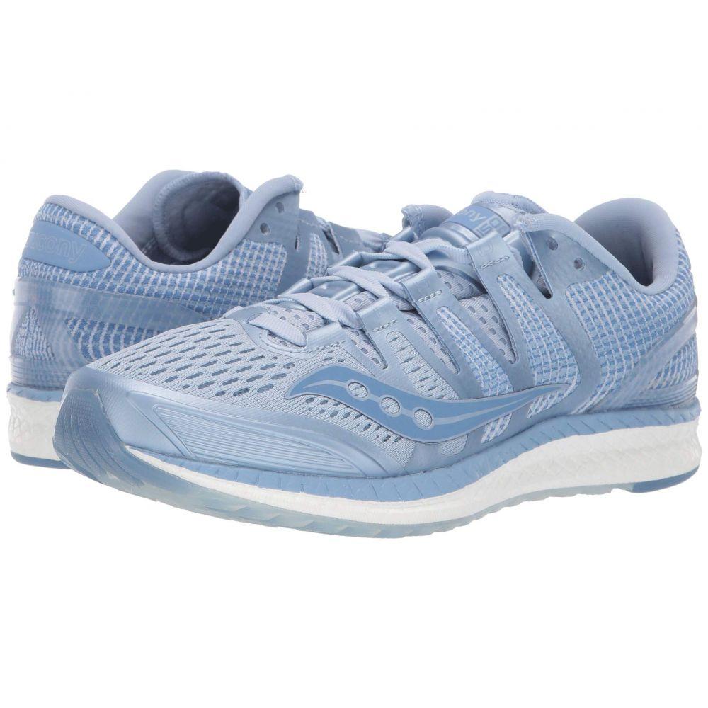 サッカニー Saucony レディース ランニング・ウォーキング シューズ・靴【Liberty ISO】Fog/Blue