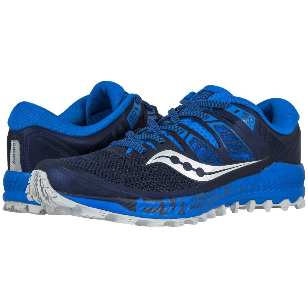 サッカニー Saucony メンズ ランニング・ウォーキング シューズ・靴【Peregrine ISO】Blue/Navy