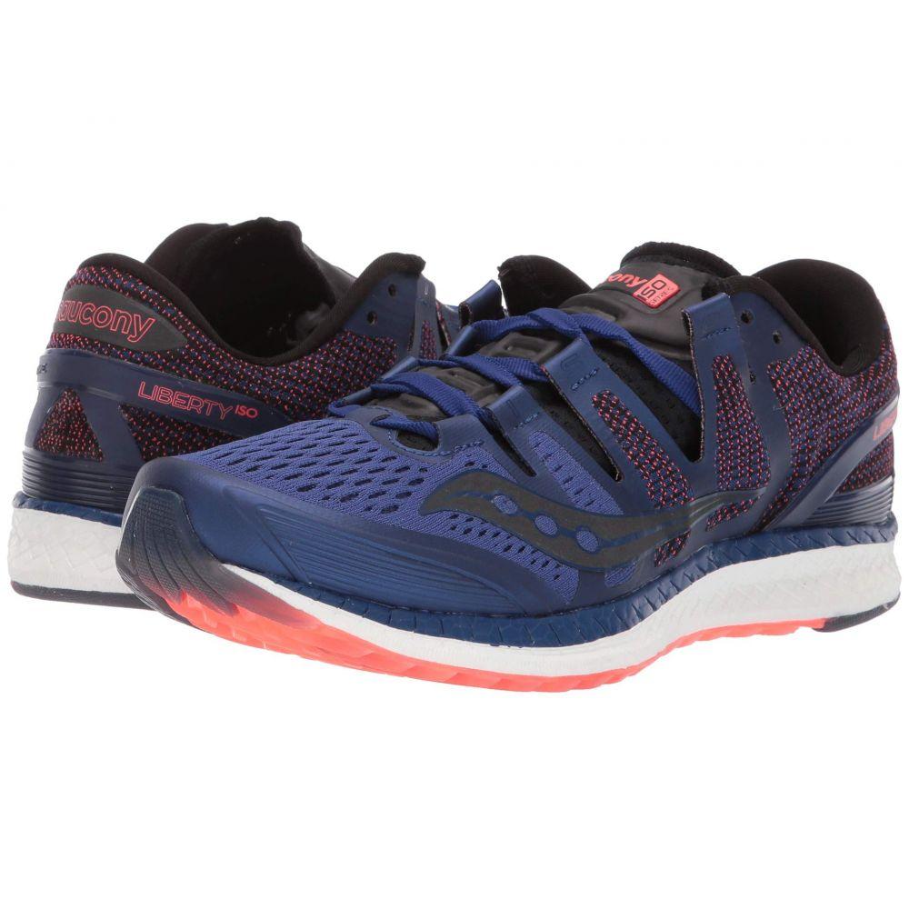 サッカニー Saucony メンズ ランニング・ウォーキング シューズ・靴【Liberty ISO】Blue/Black/Vizi Red