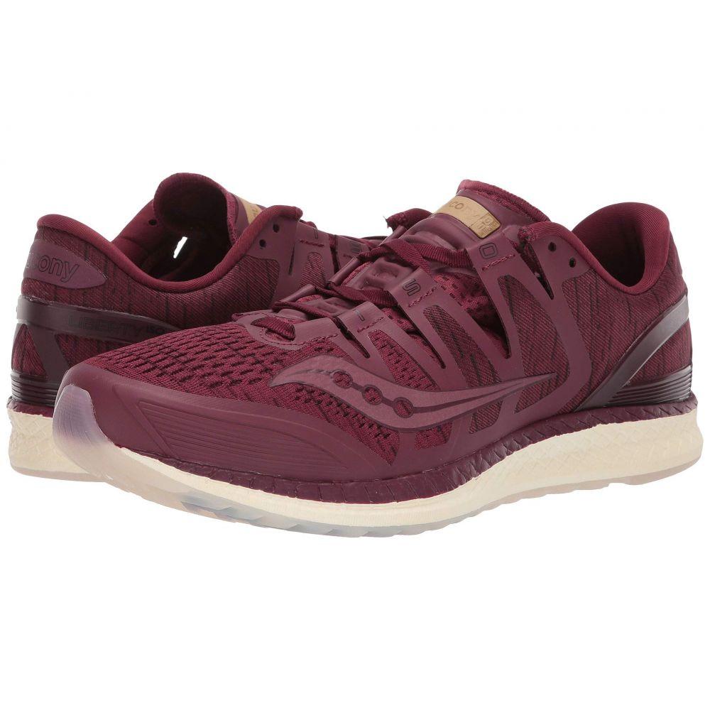 サッカニー Saucony メンズ ランニング・ウォーキング シューズ・靴【Liberty ISO】Burgundy/Shade