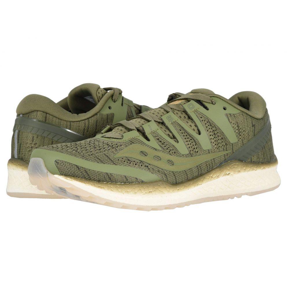 サッカニー Saucony メンズ ランニング・ウォーキング シューズ・靴【Freedom ISO】Olive Shade