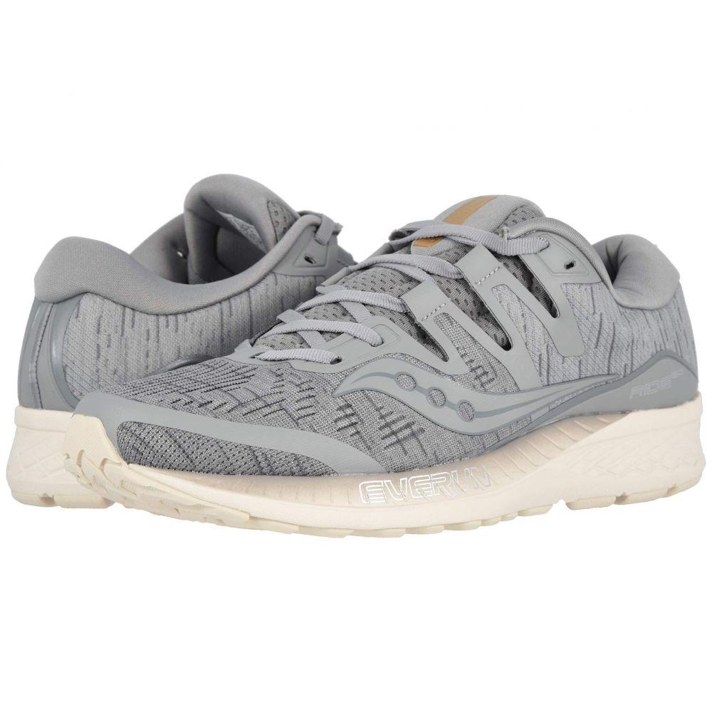 サッカニー Saucony メンズ ランニング・ウォーキング シューズ・靴【Ride ISO】Grey Shade