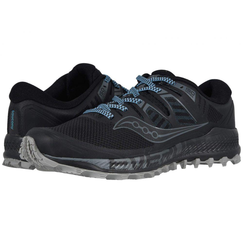 最適な価格 サッカニー ISO】Black/Grey メンズ Saucony メンズ ランニング・ウォーキング シューズ・靴【Peregrine ISO Saucony】Black/Grey, ASOBITCITY:dda33601 --- smotri-delay.com