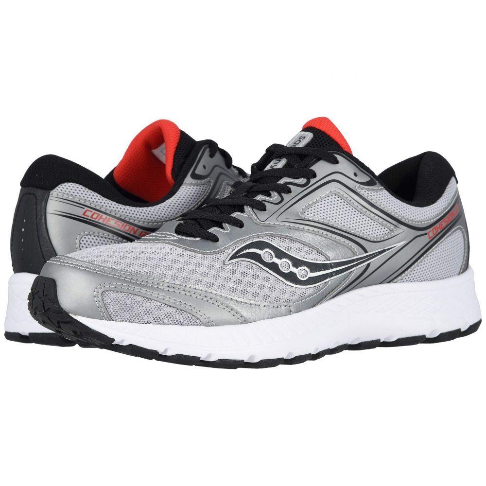 サッカニー Saucony メンズ ランニング・ウォーキング シューズ・靴【Versafoam Cohesion 12】Silver/Red