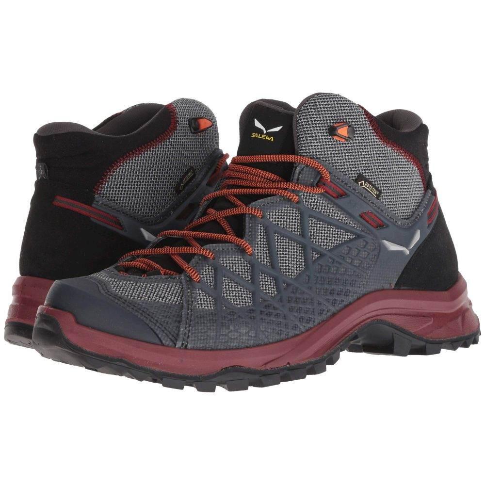サレワ SALEWA メンズ ハイキング・登山 シューズ・靴【Wild Hiker Mid GORE-TEX】Black/Biking Red