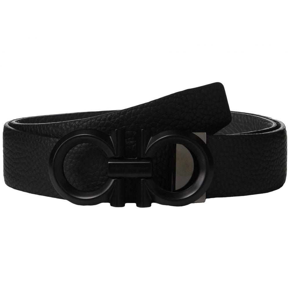 サルヴァトーレ フェラガモ Salvatore Ferragamo メンズ ベルト【Adjustable/Reversible Belt - 679939】Black/Hickory 1