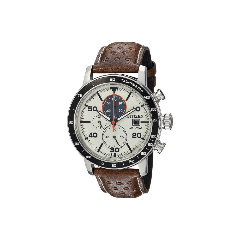 シチズン Citizen Watches メンズ 腕時計【CA0649-06X Eco-Drive】Brown