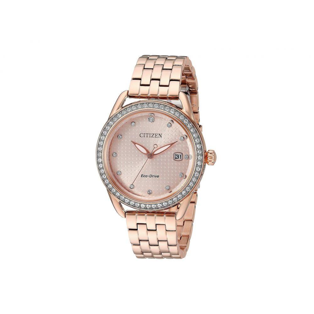 シチズン Citizen Watches レディース 腕時計【FE6113-57X Eco-Drive】Rose Gold