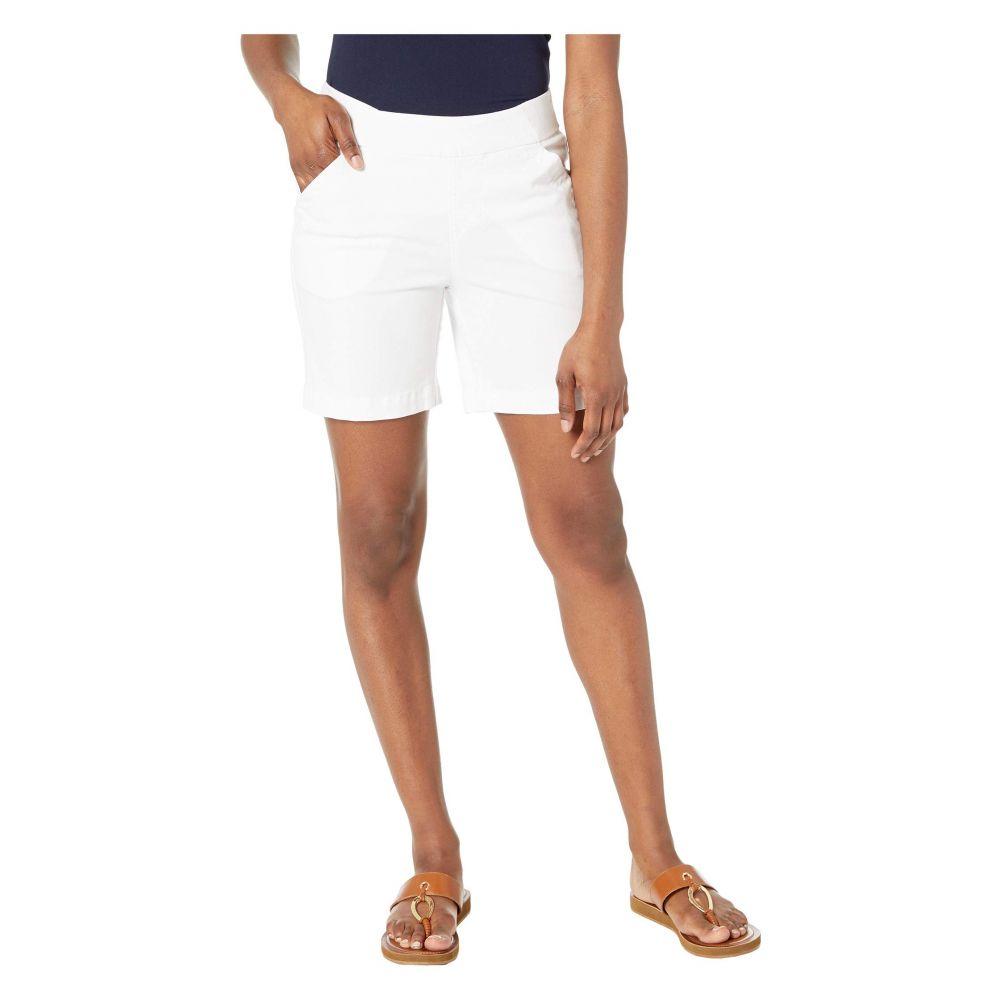 ジャグ ジーンズ Jag Jeans Petite レディース ボトムス・パンツ ショートパンツ【7' Petite Gracie Pull-On Shorts】White