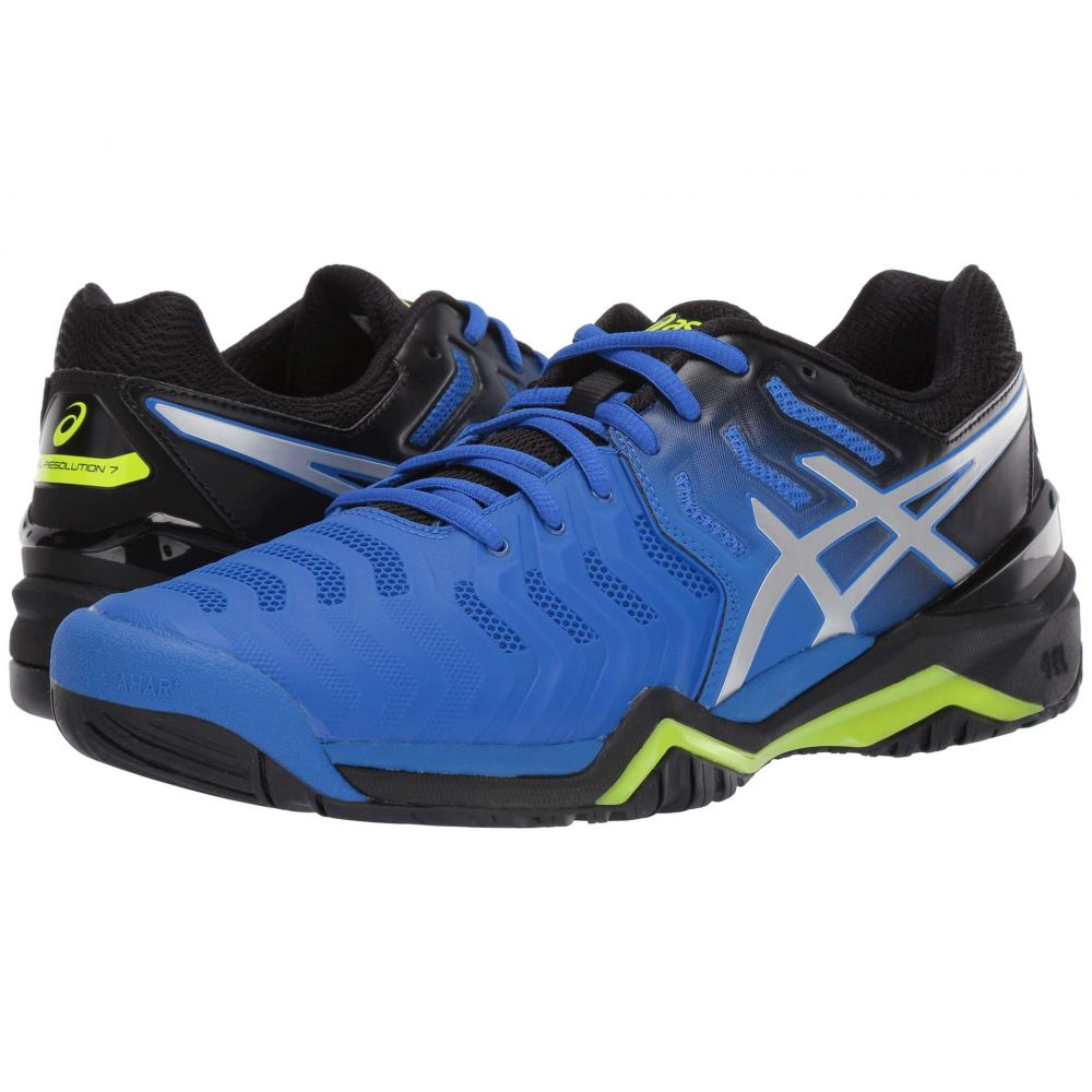 アシックス ASICS メンズ テニス シューズ・靴【Gel-Resolution 7】Illusion Blue/Silver