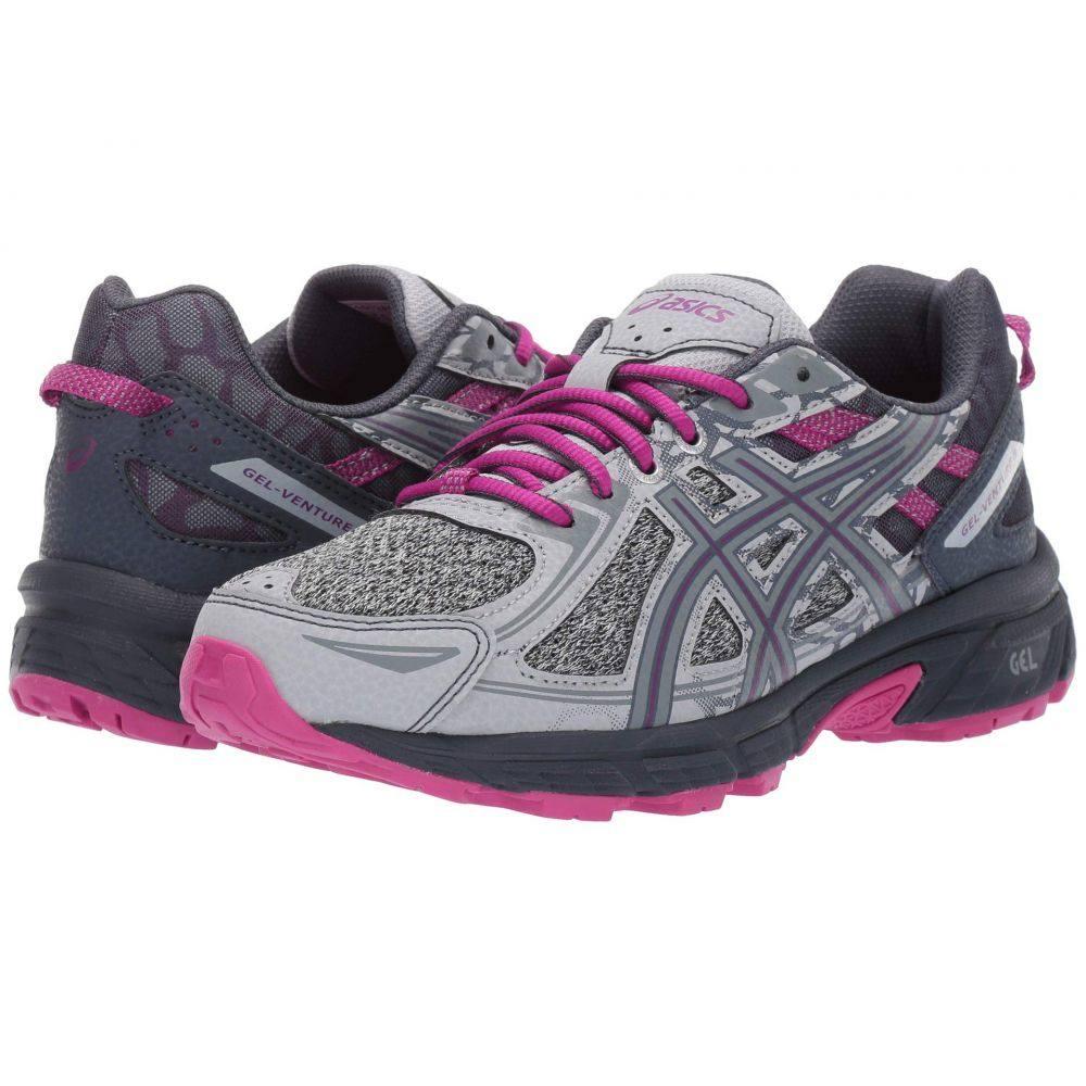 アシックス ASICS レディース ランニング・ウォーキング シューズ・靴【GEL-Venture 6】Mid Grey/Purple Spectrum