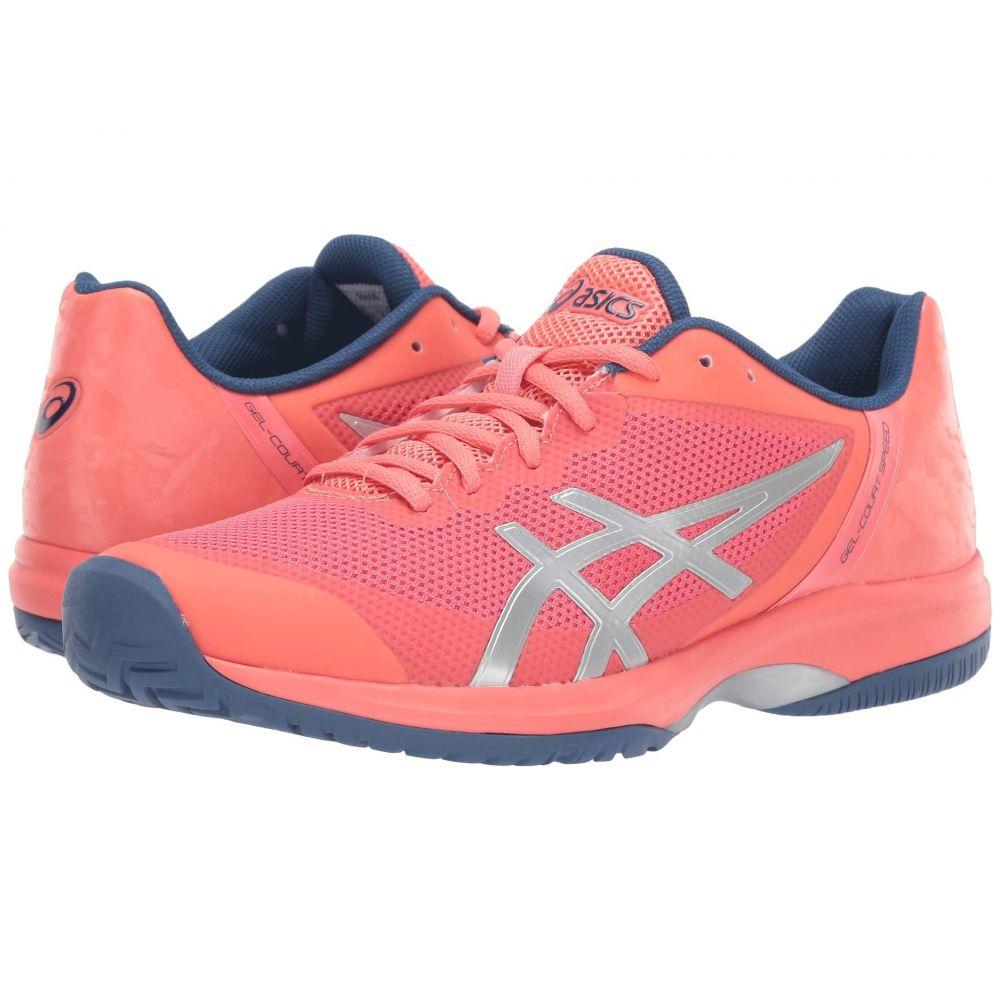 アシックス ASICS レディース テニス シューズ・靴【Gel-Court Speed】Papaya/Silver