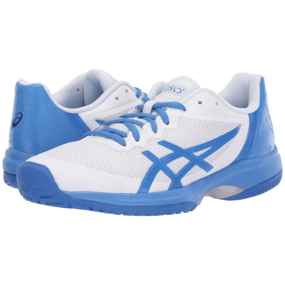 アシックス ASICS レディース テニス シューズ・靴【Gel-Court Speed】White/Costal Blue