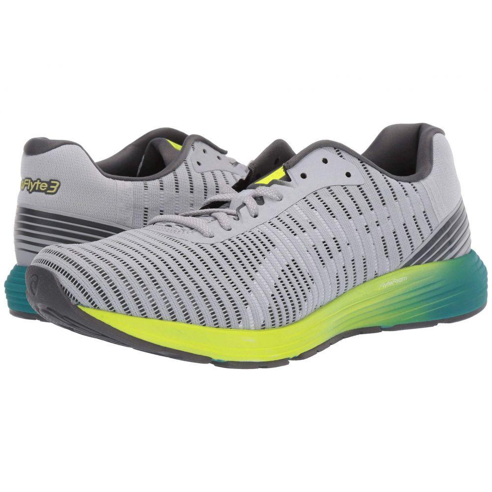 アシックス ASICS メンズ ランニング・ウォーキング シューズ・靴【Dynaflyte 3】Mid Grey/White
