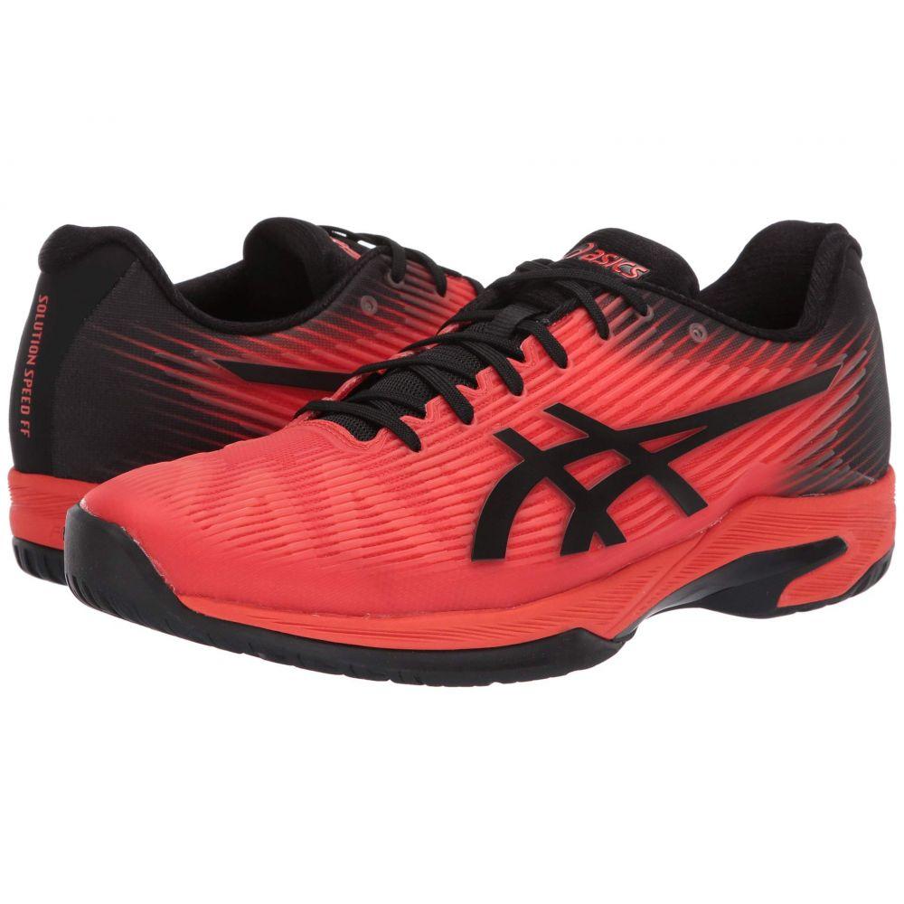 アシックス ASICS メンズ テニス シューズ・靴【Solution Speed FF】Cherry Tomato/Black