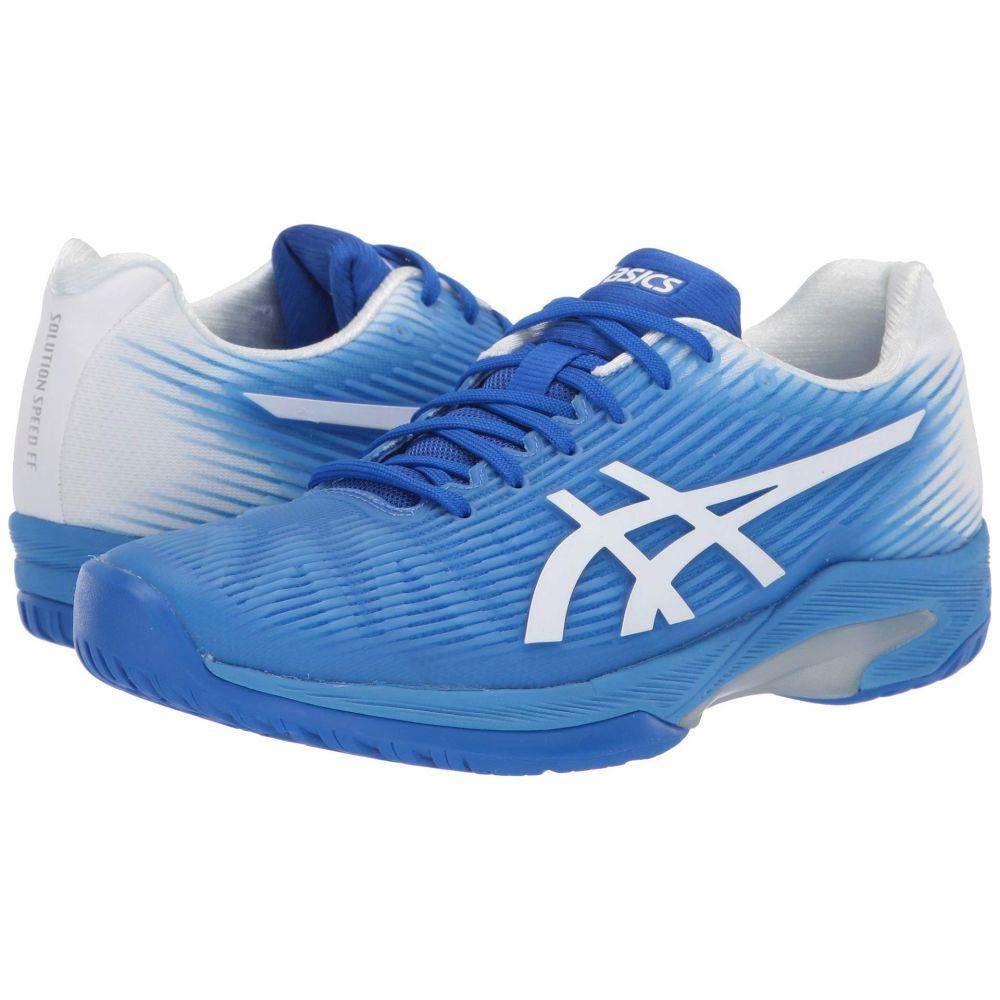 アシックス ASICS レディース テニス シューズ・靴【Solution Speed FF】Blue Coast/White