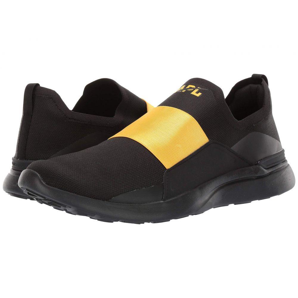 アスレチックプロパルションラブス Athletic Propulsion Labs (APL) メンズ シューズ・靴 スニーカー【Techloom Bliss】Black/Racing Yellow