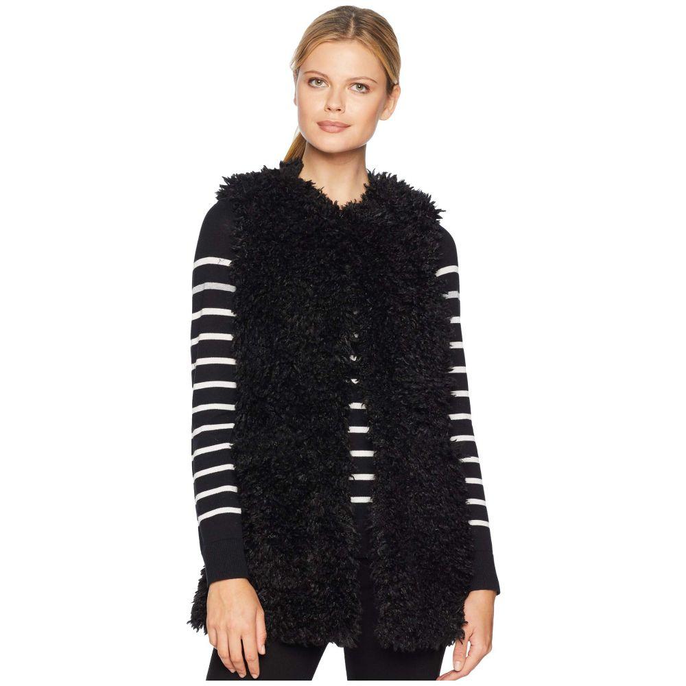 アグ UGG レディース トップス ベスト・ジレ【Farrah Faux Fur Vest】Black