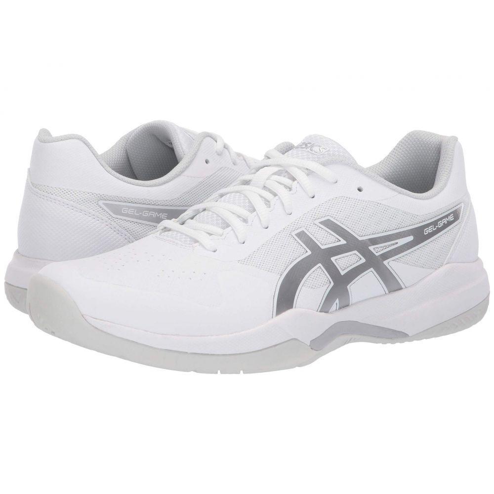 アシックス ASICS メンズ テニス シューズ・靴【Gel-Game 7】White/Silver