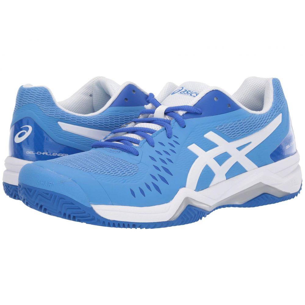 アシックス ASICS レディース テニス シューズ・靴【Gel-Challenger 12 Clay】Blue Coast/White