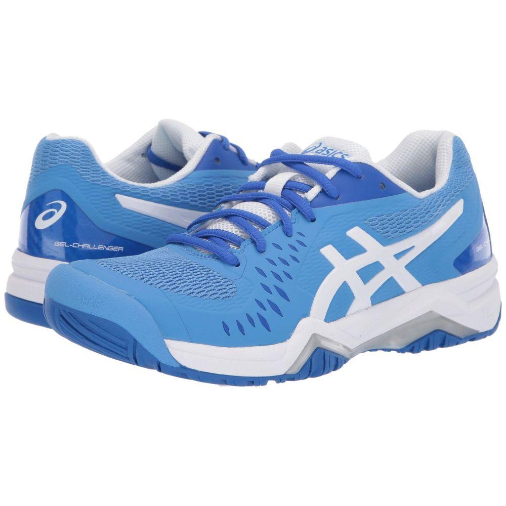 アシックス ASICS レディース テニス シューズ・靴【Gel-Challenger 12】Blue Coast/White