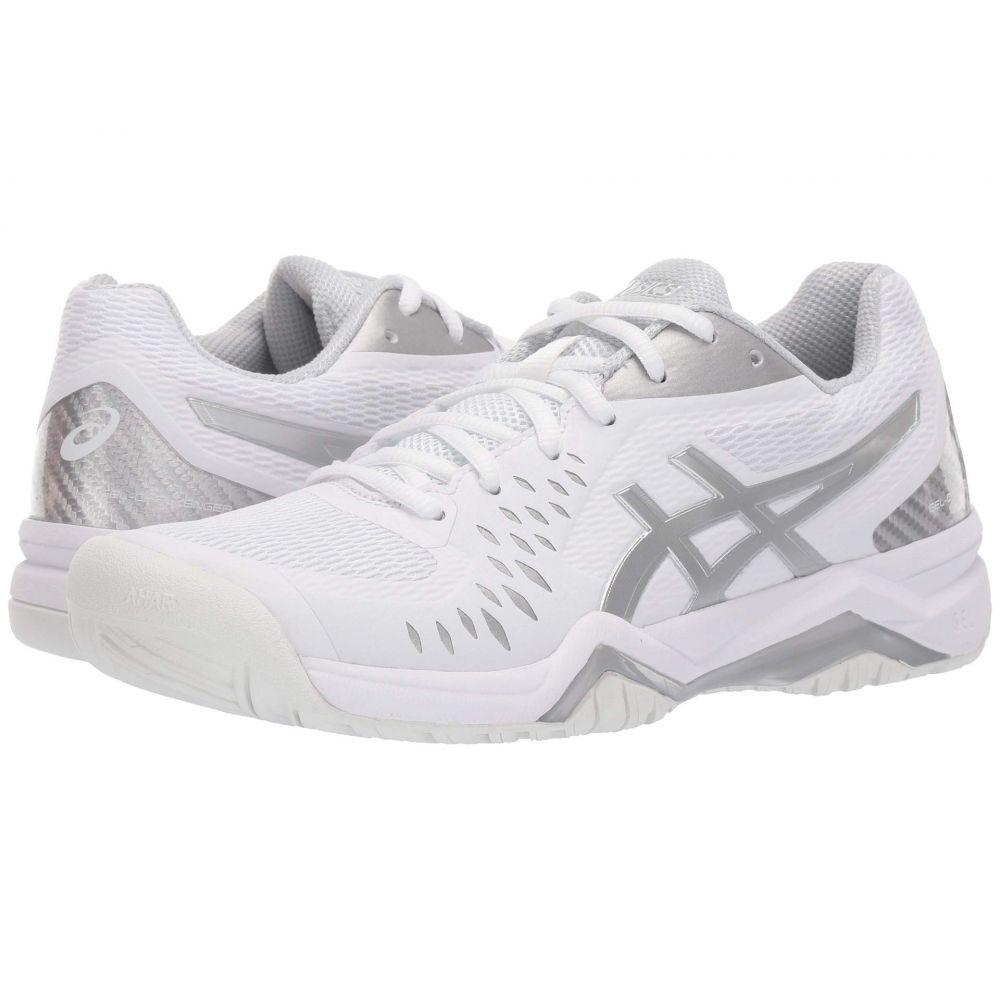 アシックス ASICS レディース テニス シューズ・靴【Gel-Challenger 12】White/Silver