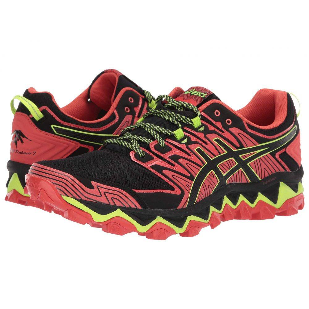 アシックス ASICS メンズ ランニング・ウォーキング シューズ・靴【GEL-Fujitrabuco 7】Red Snapper/Black