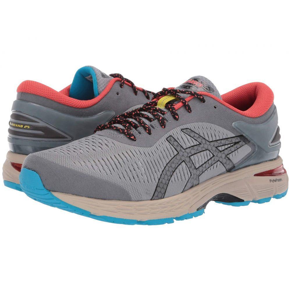 アシックス ASICS メンズ ランニング・ウォーキング シューズ・靴【GEL-Kayano 25 Trail】Stone Grey/Black