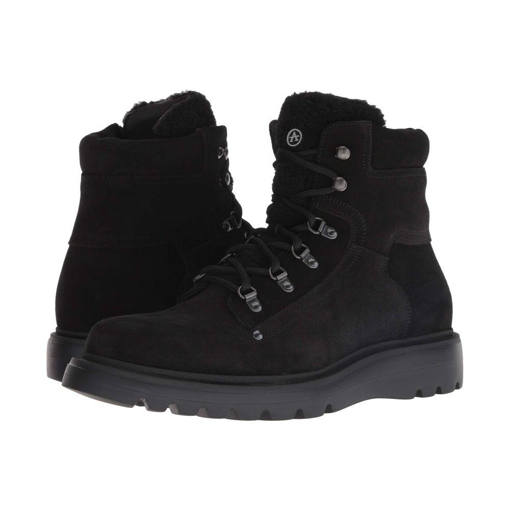 アクアタリア Aquatalia メンズ ハイキング・登山 シューズ・靴【Christopher】Black