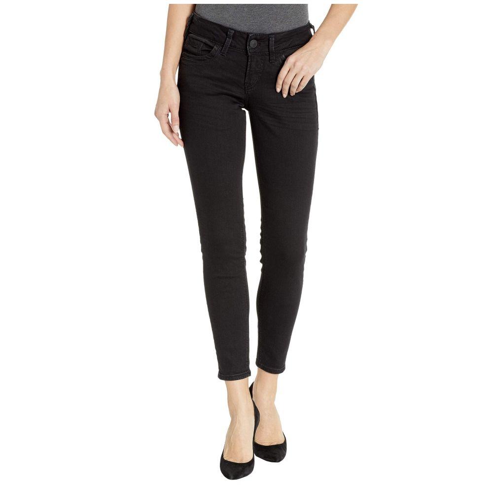 シルバー ジーンズ Silver Jeans Co. レディース ボトムス・パンツ ジーンズ・デニム【Suki Mid-Rise Perfectly Curvy Ankle Skinny Jeans in Black】Black