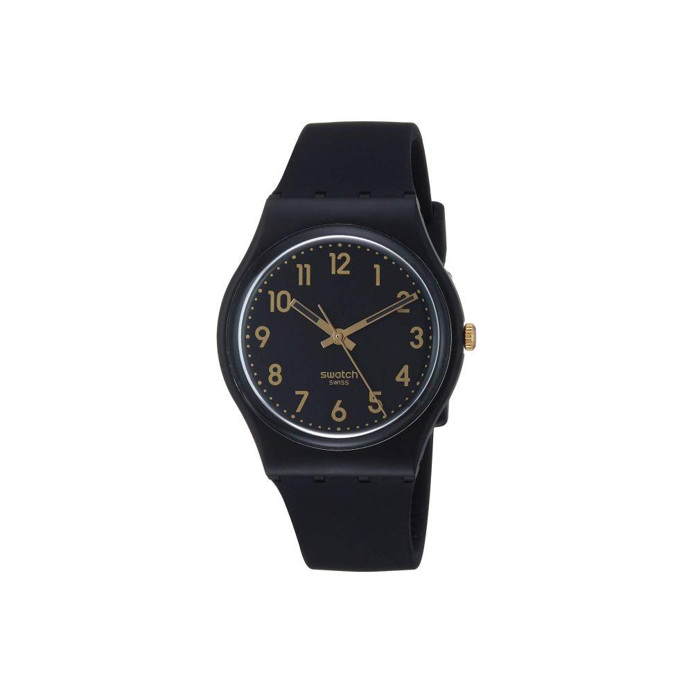 スウォッチ Swatch レディース 腕時計【Golden Tac - GB274】Black