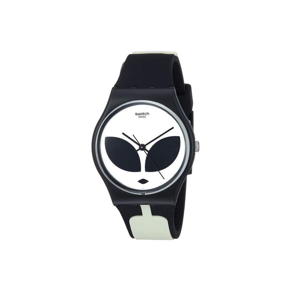 スウォッチ Swatch レディース 腕時計【Telefon Maison - GB307】Black