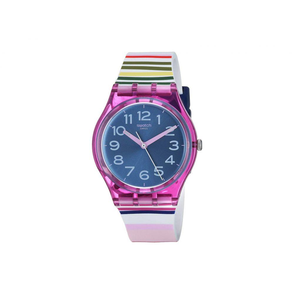スウォッチ Swatch レディース 腕時計【Funny Lines - GP153】Pink