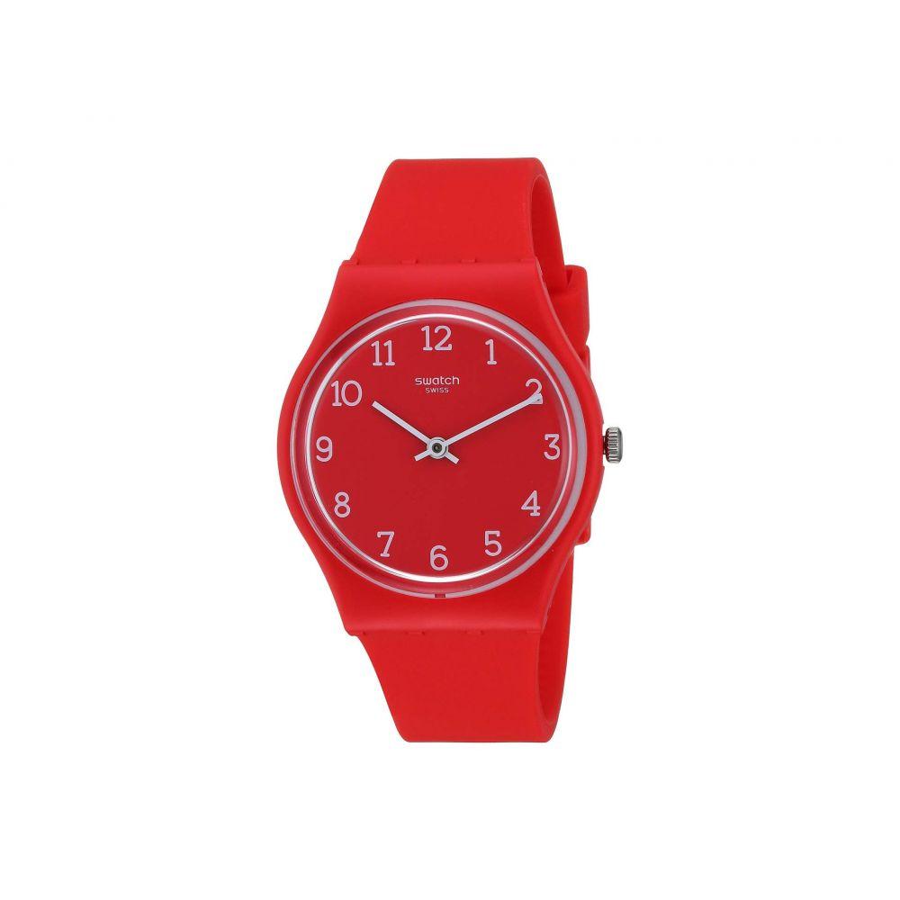 スウォッチ Swatch レディース 腕時計【Sunetty - GR175】Red