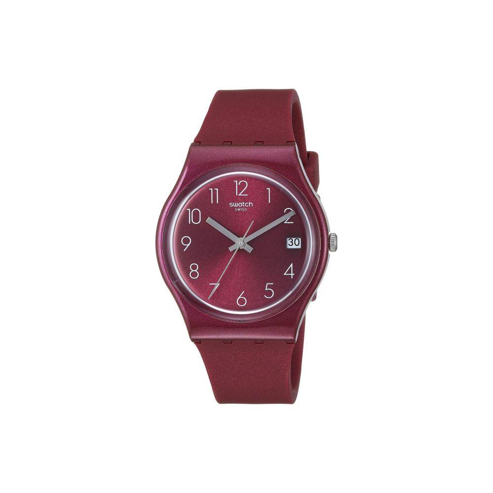 スウォッチ Swatch レディース 腕時計【Redbaya - GR405】Red