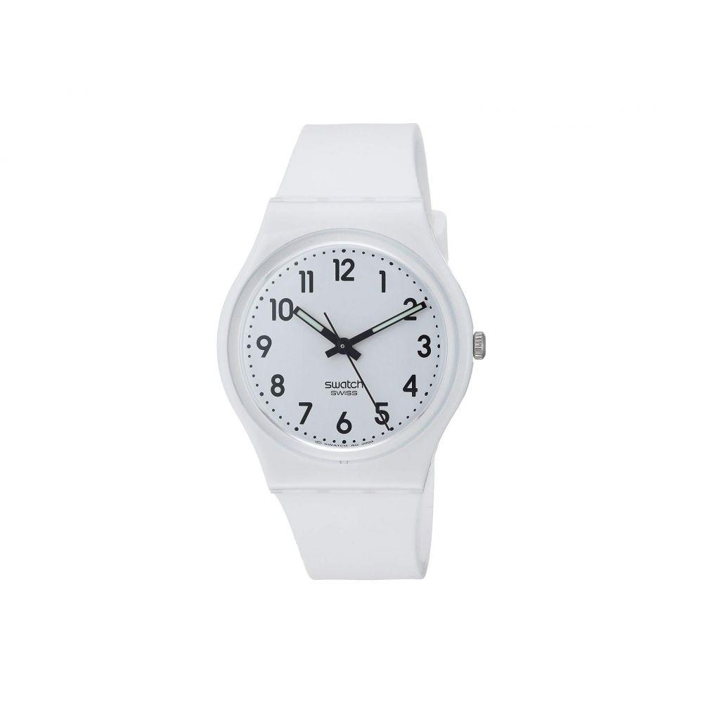 スウォッチ Swatch レディース 腕時計【Just White Soft - GW151O】White