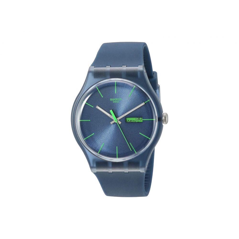 スウォッチ Swatch レディース 腕時計【Blue Rebel - SUON700】Blue
