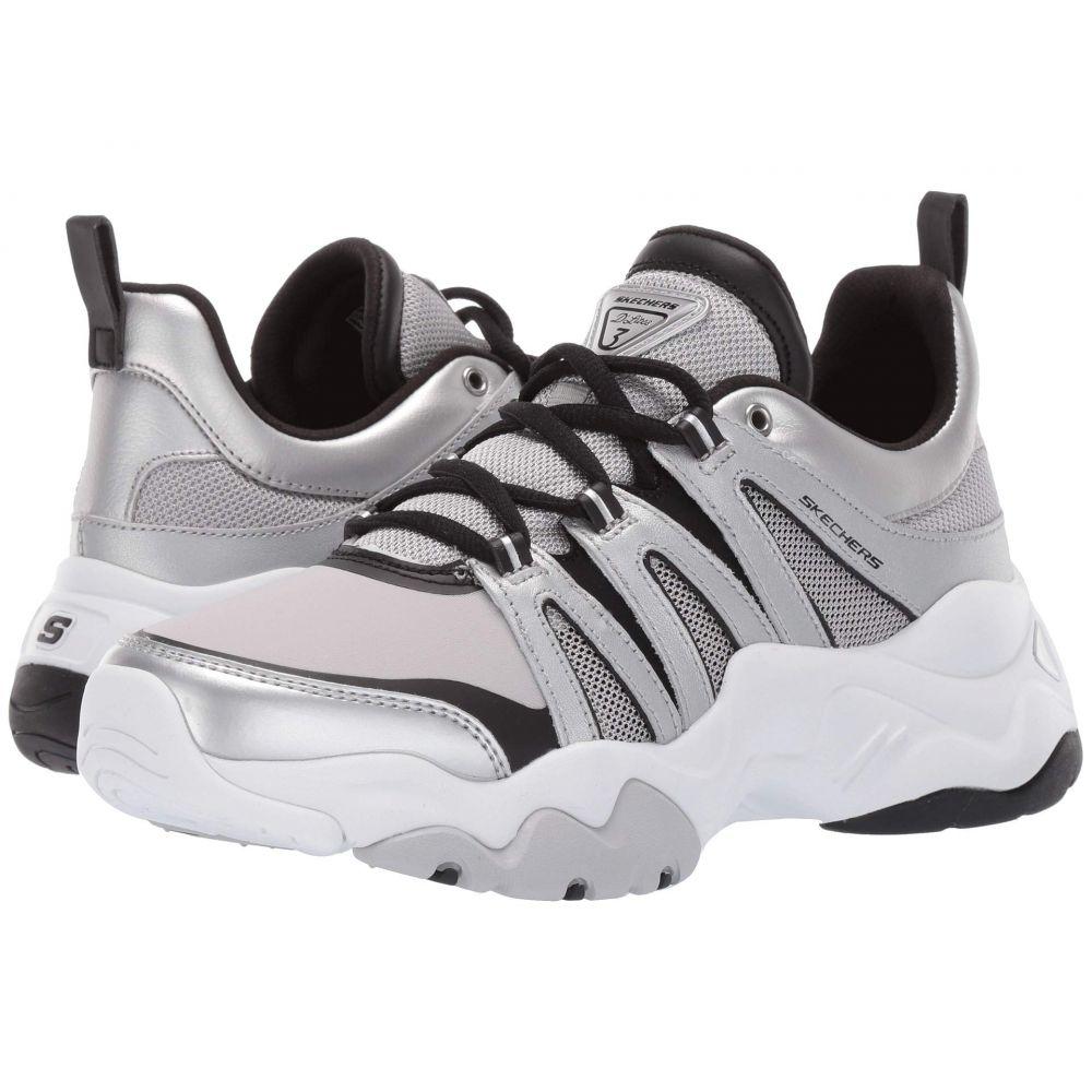 スケッチャーズ SKECHERS レディース シューズ・靴 スニーカー【D'Lites 3.0】Silver/Black