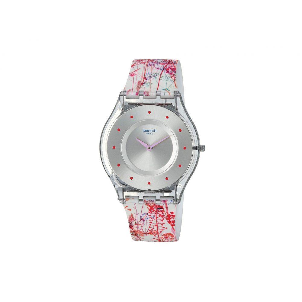 スウォッチ Swatch レディース 腕時計【Jardin Fleuri - SFE102】White