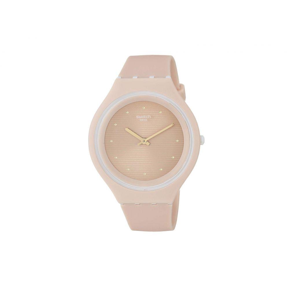スウォッチ Swatch レディース 腕時計【Skinskin - SVUT100】Pink