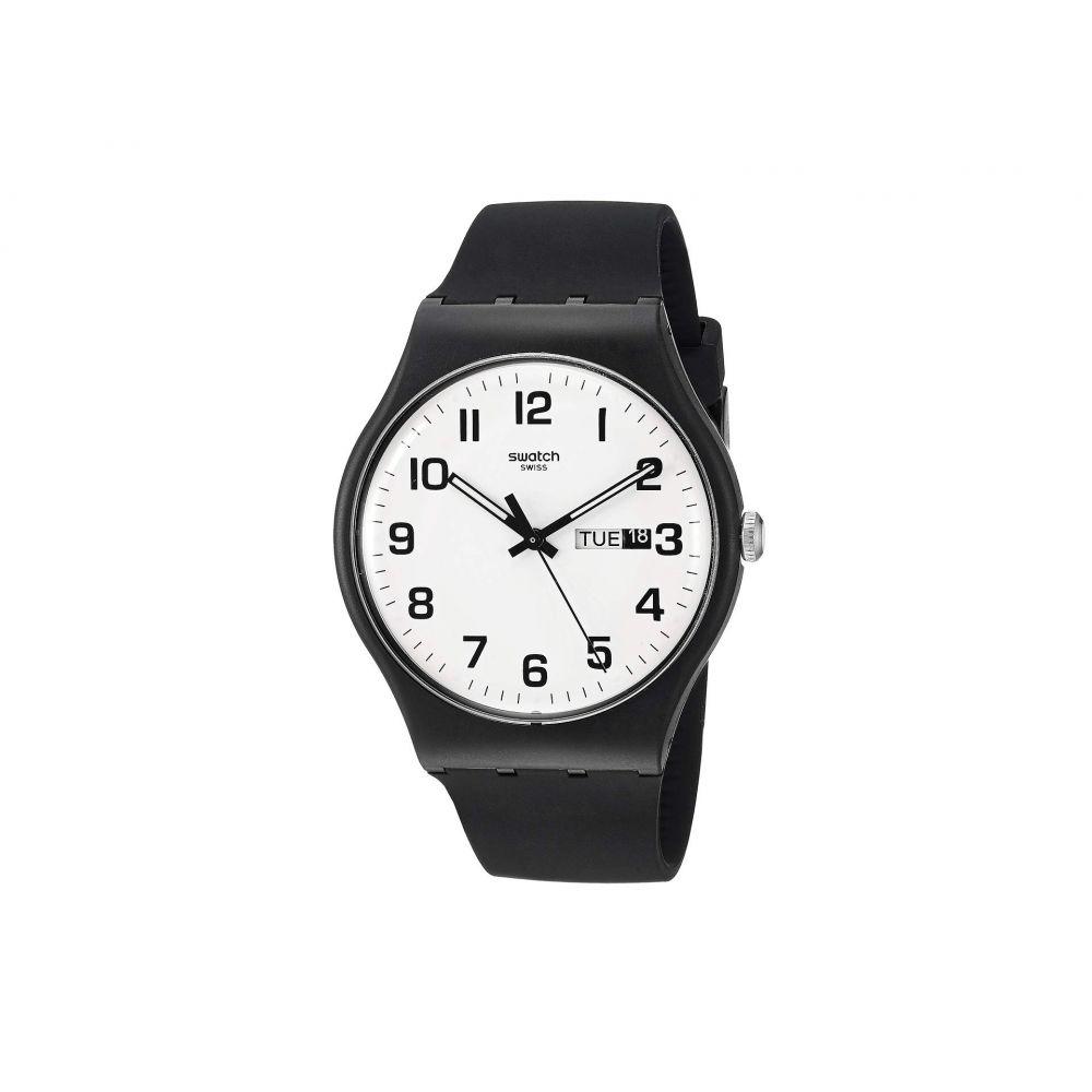 スウォッチ Swatch レディース 腕時計【Twice Again - SUOB705】Black